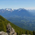 View of the Snoqualmie Basin.- Mount Si Hike