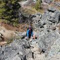 Depending on the crowds, you may find yourself scrambling over rocks at the basin looking for your own space.- Mount Si Hike