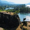 A view into the Gorge from the peninsula.- Government Cove Peninsula