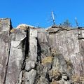 Rock formation on the Government Cove Peninsula.- Government Cove Peninsula