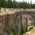 Looking out at Munson Creek Canyon.- Godfrey Glen Loop Trail