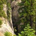 Looking down toward Duwee Falls.- Godfrey Glen Loop Trail
