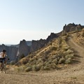 The climb up Burma Road.- Gray Butte Loop via Burma Road