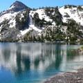 Ice Lake's west shore.- Ice Lake
