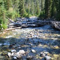 The West Fork of the Wallowa River.- Ice Lake