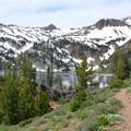 The trail to Ice Lake.- Ice Lake