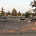 Typical site.- Skull Hollow Campground