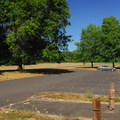 Molalla River State Park parking area.- Molalla River State Park