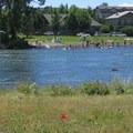 The Deschutes River and Mckay Park.- Deschutes River Float