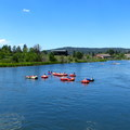 Floating on the Deschutes River.- Deschutes River Float