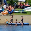 Farewell Bend Park across the Deschutes from Riverbend Park.- Deschutes River Float