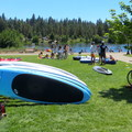Farewell Bend Park and rentals from Sun Country Tours.- Deschutes River Float