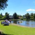 Exit point at Drake Park.- Deschutes River Float