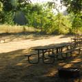 Hiker/biker campsites.- Champoeg State Park Campground