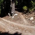 The Gunsight Ridge Trailhead.- Gunsight Ridge Trail