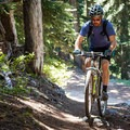 Short climbs and descents keep the ridge trail varied and challenging.- Gunsight Ridge Trail