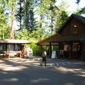The visitor center and general store at Detroit Lake State Park.- Detroit Lake State Park Campground