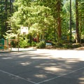 Playground and basketball court in the A Loop.- Detroit Lake State Park Campground