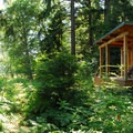 The naturalist office at Detroit Lake State Park.- Detroit Lake State Park Campground
