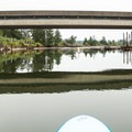 Head under the bridge for the North Fork of the Nehalem River.- North Fork of the Nehalem River
