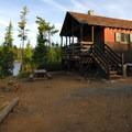 Cabin 6.- Olallie Lake Resort