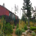 Staff canteen cabin.- Olallie Lake Resort