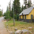 Adjacent Olallie Lake Guardstation.- Olallie Lake Resort