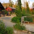 Olallie Lake Resort.- Olallie Lake Resort
