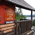 Olallie Lake Resort office and general store.- Olallie Lake Resort
