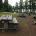 One of three walk-in campsites.- Paul Dennis Campground