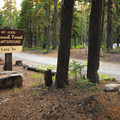 Camp Ten Campground on the southwest shore of Olallie Lake.- Camp Ten Campground