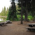 One of two group ('double') campsites.- Camp Ten Campground