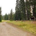 Breitenbush Lake Campground.- Breitenbush Lake Campground