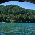North Fork Reservoir from The Culvert.- North Fork Reservoir