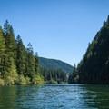 North Fork Reservoir.- North Fork Reservoir