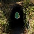 The pedestrian tunnel at The Culvert.- North Fork Reservoir