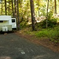 Several sites are large enough for trailers.- Promontory Park Campground