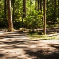 Several sites are close together.- Promontory Park Campground