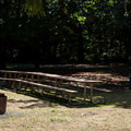 Open staging area at Fisherman's Point.- Fisherman's Point Group Campground