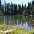 Bluff Lake.- Bird Creek Meadows