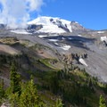Hellroaring Viewpoint of Mount Adams (12,281').- Bird Creek Meadows