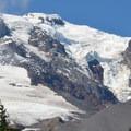 Mazama Glacier on Mount Adams (12,281').- Bird Creek Meadows