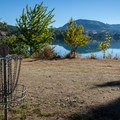 A senic hole on the 18-hole disc golf course.- Dexter State Recreation Site