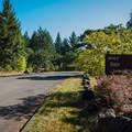 The entrance to Dexter State Recreation Site.- Dexter State Recreation Site