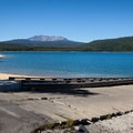The boat ramp at Spring Campground.- Spring Campground
