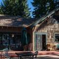 The main lodge at Crescent Lake Resort.- Crescent Lake Resort