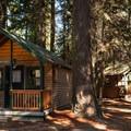 Cabins at Crescent Lake Resort.- Crescent Lake Resort