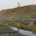 The Cattle Point Lighthouse, built in 1935.- San Juan Island: Cattle Point Natural Resources Conservation Area