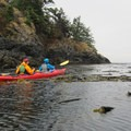 Kayaking Friday Harbor.- San Juan Island: Friday Harbor Sea Kayaking