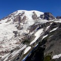 Mount Rainier's Nisqually and Wilson Glaciers.- Mount Rainier: Disappointment Cleaver Route
